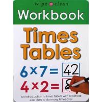 Workbook: Times Tables (Paperback) Wipe-Clean