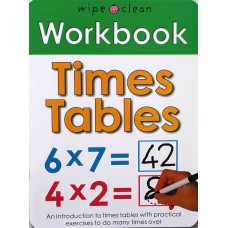 Workbook: Times Tables (Paperback) Wipe-Clean