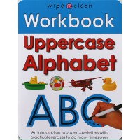Workbook: Uppercase Alphabet (Paperback) Wipe-Clean