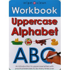 Workbook: Uppercase Alphabet (Paperback) Wipe-Clean